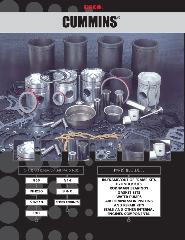 Pistons & Components